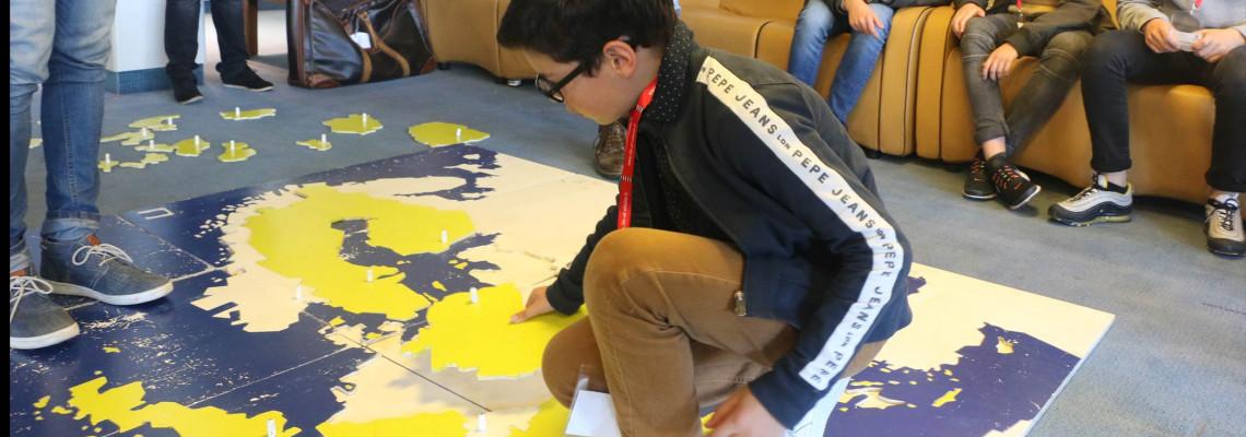 Image d'illustration pour 70 collégien.ne.s réuni.e.s pour parler d'Europe au Département