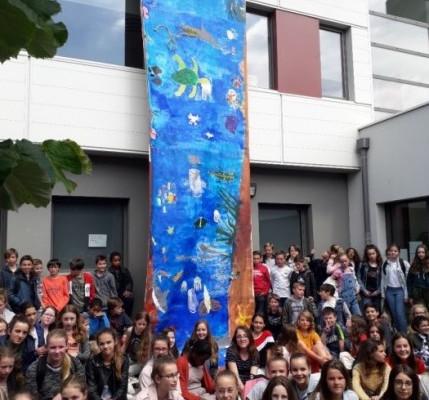 Image d'illustration pour L'eau dans tous ses états, source d'inspirations artistiques pour les élèves du collège Moka à Saint-Malo