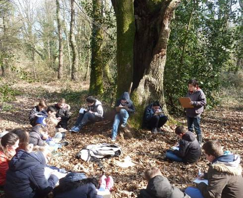 Image d'illustration pour Au collège, « Apprendre dans la nature » c'est possible avec le Département d'Ille-et-Vilaine !