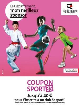 Image d'illustration pour Coupon sport 35 : un coup de pouce financier pour favoriser la pratique des jeunes